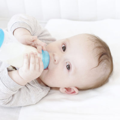 Giving your child a bottle in bed? You may be putting them at risk for tooth decay, ear infections, choking and poor sleep associations